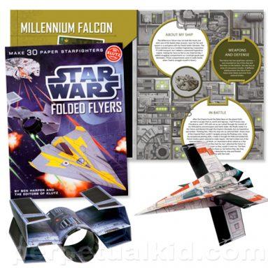 STAR WARS STARFIGHTER PAPER AIRPLANES