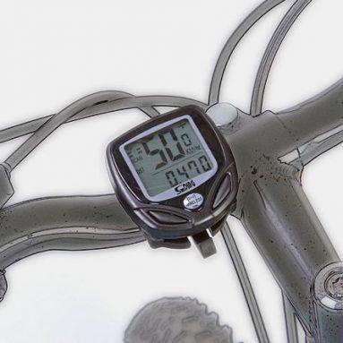 Wireless Bike Computer – Odometer + Time