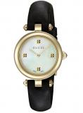 Gucci Women's Swiss Quartz Gold-Tone and Leather Dress Watch