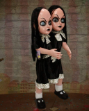 Halloween Haunters Life-Size Standing 2 Headed Girl Doll Gothic