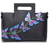 Handmade Butterfly Ladies Genuine Leather Large