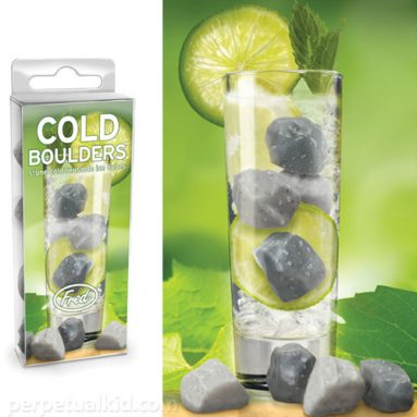 COLD BOULDERS REUSABLE ICE CUBES