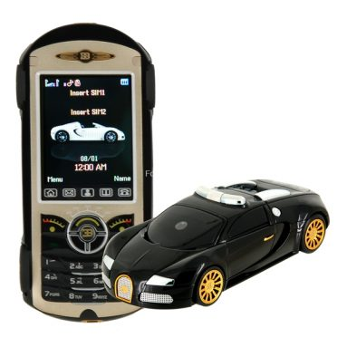 Car-shaped Mobile/Cell Phone