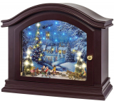 Mantel Christmas Music Box Holiday Decoration