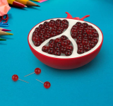 Pomegranate-Style Push Pin Holder
