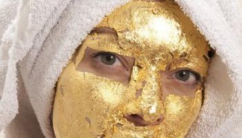 Pure 24k Gold Leaf Skin Care Mask