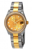 Rolex Diamond 18kt Watch