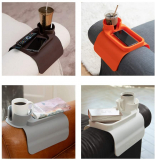 Silicone Cup Holder Tray for Arm Chair Couch Caddy Sofa Recliner