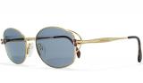 Chopard Gold Vintage Sunglasses Rectangular