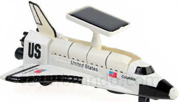 Solar Space Shuttle Columbia