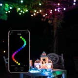 Twinkly Festoon LED String Lights – App Controlled Indoor and Outdoor String Lights Decoration