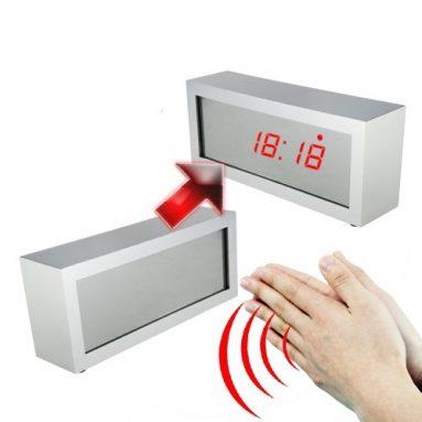 Mirror Alarm Clock with LED Display