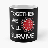 We Will Survive Covid-19 Coronavirus Classic Mug