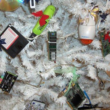 HiTech Christmas Tree