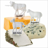 Animal Cheese Markers