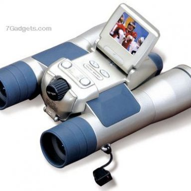 Spion 8X32 Binocular with 5.0MP Digital Camera & Camcorder