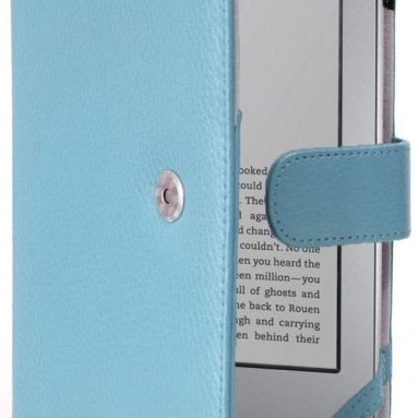 Cyber Monday: i-BLASON Premium Red Leather for Kindle Touch 3G