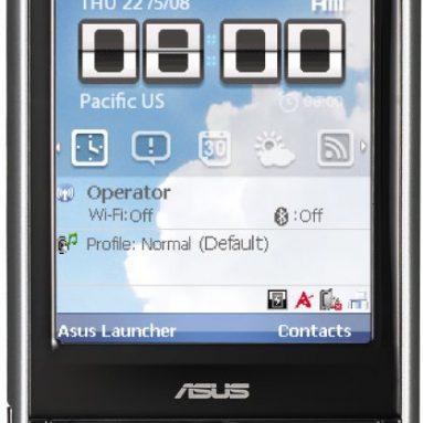 ASUS P320 Mini GPS PDA