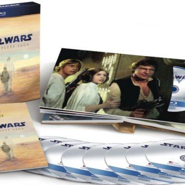 Star Wars: The Complete Saga blu ray