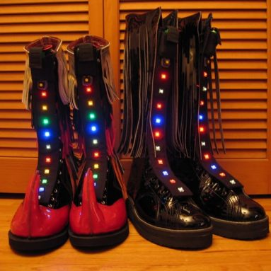 Light-up shoes collection