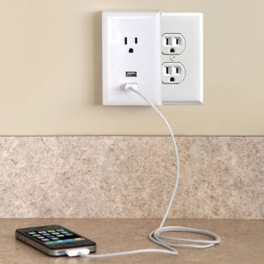 The Plug-in USB Wall Outlets