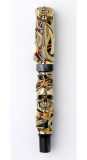 Montegrappa Chaos Limited Edition 18K Gold Rollerball Pen