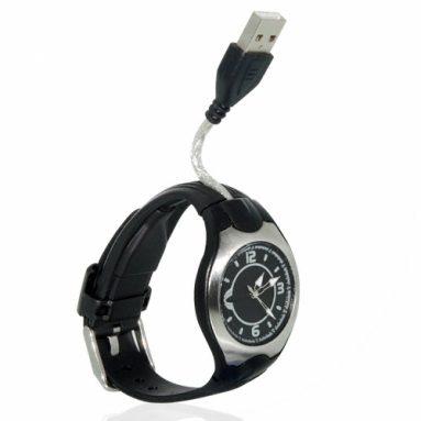 8GB Flash Memory Timepiece