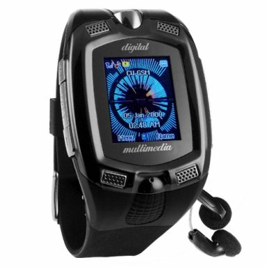Mobile Phone Wrist Watch