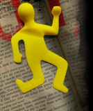 SQUASHED FLAT BOOK MARK