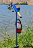 Fishing Rod Holder/BLUE