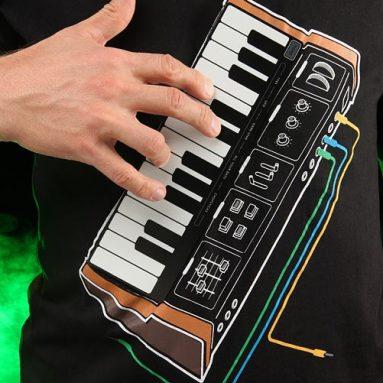 Electronic Music Synthesizer Shirt