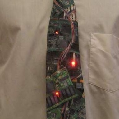 Ties with LEDs