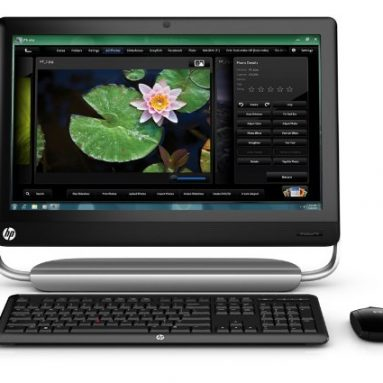 HP TouchSmart Desktop Computer