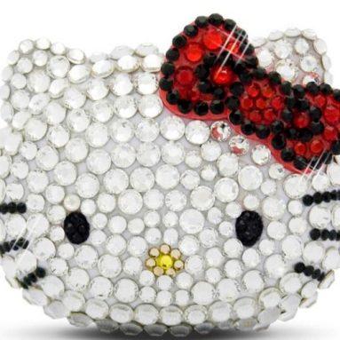Crystallized Swarovski Hello Kitty MP3 Player