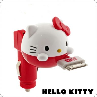 Sanrio Hello Kitty Car Charger for iPhone/iPod