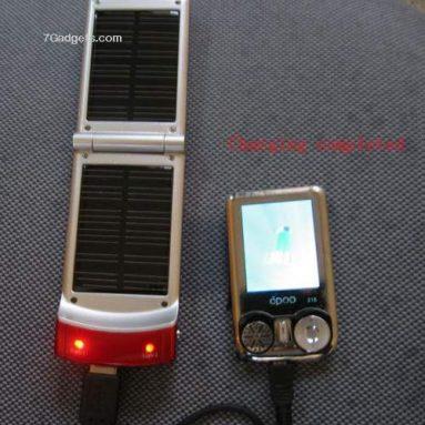 Solar Energy mobile Phone/Ipod/MP3/MP4