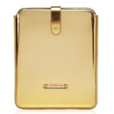 uicy Couture Mirrored Sleeve Case For iPad Gold