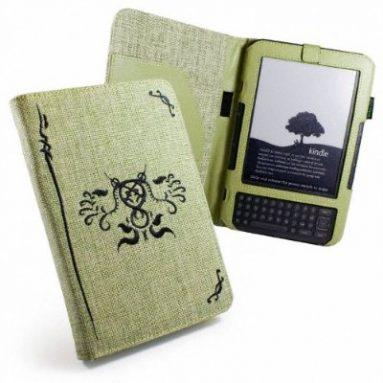 Eco-nique Natural Hemp Pistachio Green Case For Kindle 3