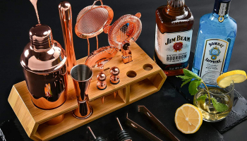 Cocktail Shaker Bar 18pcs Cocktail Set