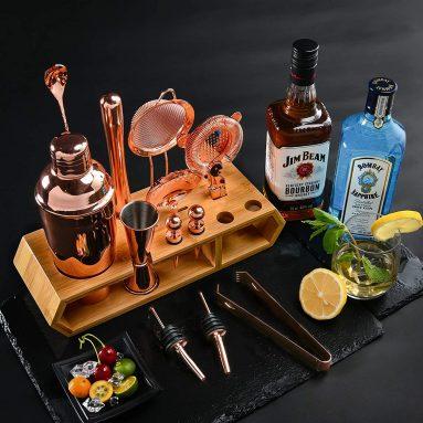 Cocktail Shaker Bar 18pcs Cocktail Set