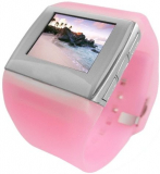 Pink watch MP4 Player
