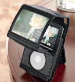 Video iPod Holder with Magnifier