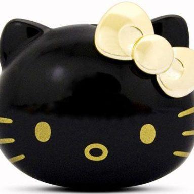 Black Hello Kitty MP3 Player