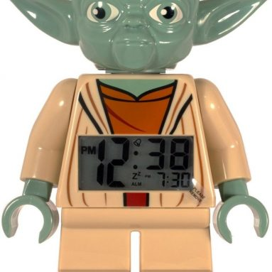 Black Friday Special: LEGO Star Wars Yoda Minifigure Clock