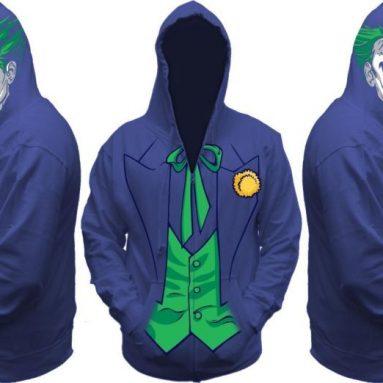 Batman Joker Hooded Sweatshirt