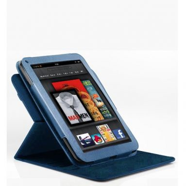 Poetic 360 degree Rotary leather case for Amazon Kindle Fire