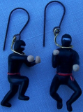 Super Ninja earrings