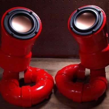 ikyaudio Red Lobesters Audio Speakers