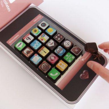 iphone app chocolates