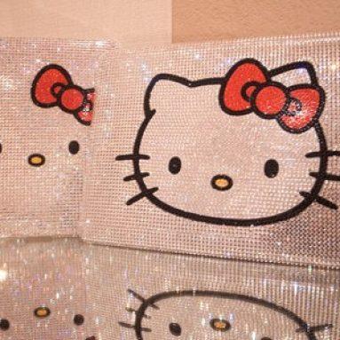 Swarovski Crystal Hello Kitty iPAD case